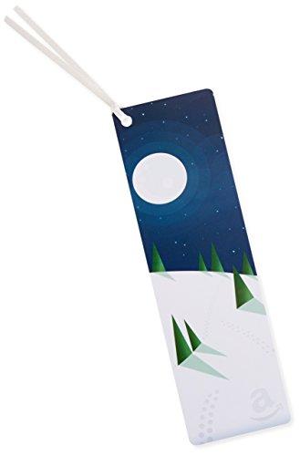 Amazon.de Geschenkkarte als Lesezeichen - 50 EUR (Winternacht)