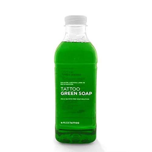 AloeTattoo Green Soap / Grüne Seife 1000 ml Tattoo-Flüssigseife