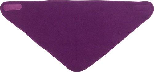 Playshoes 422001 Fleece Dreiecks-Tuch für Kinder, Farbe lila
