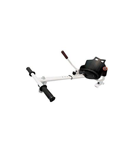 ORNII Hoverkart Blanc – Kart pour Hoverboards 6.5, 8 et 10 Pouces
