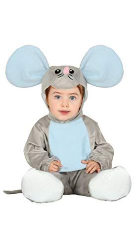 Baby Kostüm Maus Fips Kleinkind Tier Fasching Karneval (68/80)