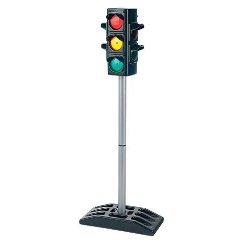 (Spielzeug Ampel mit Licht Ampelanlage Spielampel Strassen Ampel Groß mit Beleuchtung batteriebetrieben Verkehrsampel mit Funktion Ampel Kinderampel für Kinder draußen Verkehrserziehung Grundschule)