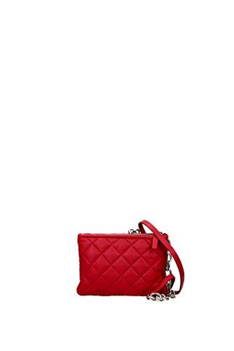 Borse a Tracolla Moncler poppy Donna - Pelle (C109A301000001550) Rosso