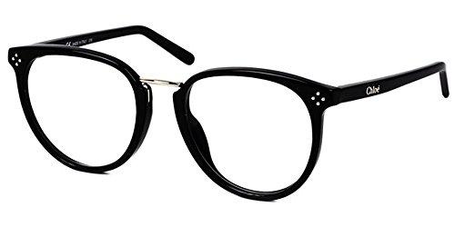 Chloé - BOXWOOD CE2690, Rund, Acetat, Damenbrillen, BLACK(001), 53/20/135