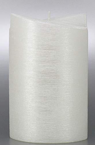 für Hochzeit 19x12 cm - 8703 - Kerzenrohling, 2 Flügel Ellipse 190x120 mm zum Basteln und Verzieren, mit Karton zur Aufbewahrung. Perlmutt Kerzen. ()