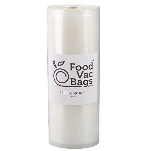 One 27,9cm X 50'Jumbo Roll foodvacbags Vakuumiergerät Aufbewahrungsbeutel 4Mil Commercial Grade Sous Vide
