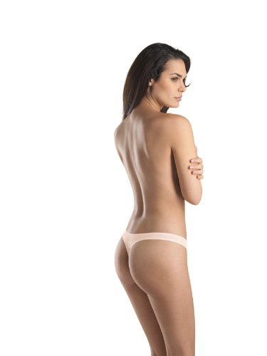 Hanro Damen String Cotton Sensation Hautfarben (Skin )