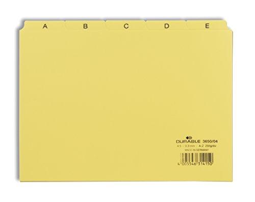 Durable 365004 - Juegos índices pestañas impresas