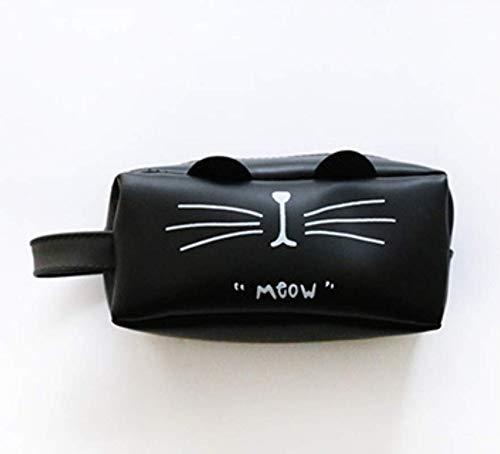 Werse Katzen-Bleistift-Beutel-Einfache Pektin-Bleistift-Taschen-Kreative Briefpapier-Taschen-große Kapazitäts-Studenten-Bleistift-Kasten - der Bart Einer Katze (Bart Der Katze)