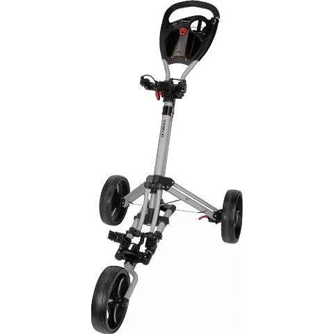 Legend Fast Fold Trike 3 Wheel Silver - Carro de golf, color plateado