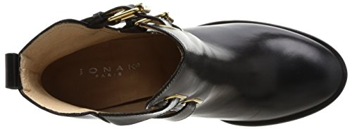 JONAK 088 11232cu H4, Stivali Donna Nero (cuir noir)