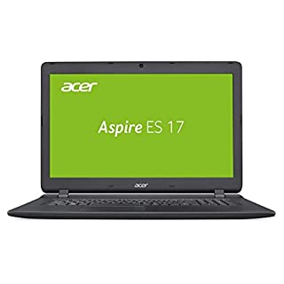 Acer Aspire ES 17 (ES1-732-P9EX) 43,9 cm (17,3 Zoll HD+) Multimedia Laptop (Intel Pentium N4200, 8 GB RAM, 256 GB SSD, Intel HD, Win 10 Home) schwarz