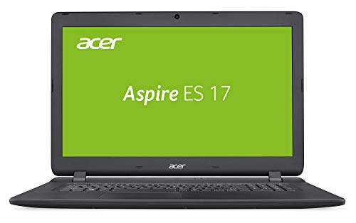 Acer Aspire ES 17 (ES1-732-P9EX) 43,9 cm (17,3 Zoll HD+) Multimedia Laptop (Intel Pentium N4200, 8 GB RAM, 256 GB SSD, Intel HD, Win 10 Home) schwarz Bluetooth Acer Aspire
