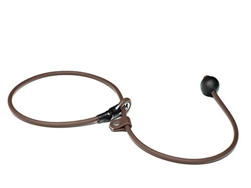 Mystique® Biothane Kurzführer 6mm braun 70cm