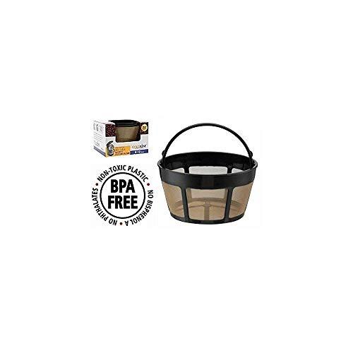 Goldfarbenes Marke wiederverwendbar 8–12Cup Korb Kaffee-Filter passt Cuisinart Kaffeemaschine und Brauer. Ersetzt Ihr Cuisinart wiederverwendbar Korb Kaffee Filter–BPA-frei (Brauer Filter)