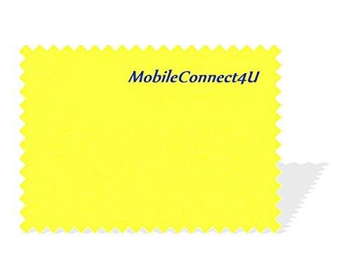 Mobileconnect4u-Custodia flip/supporto a portafoglio in pelle PU per iPhone 5/5S con pellicola proteggi schermo.