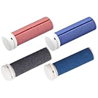 Micro Pedi Ersatzrollen MPREF Rollen 2 x 2er - 1 x grau, 2x blau, 1 x rot fuer MP Lady, MP Curamed, MP Nano, etc, preisvergleich bei billige-tabletten.eu