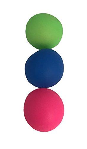 joka international GmbH 3X Stretchy-Stretch Ball Versch. Farben, Ø ca. 6 cm, Kneten – Drücken – Langziehen 16905