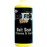 Dynamite Baits - Atrapasueños Big Fish River Soak Cheese & Garlic, 500 ml, Nessuno, única