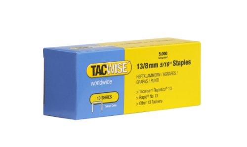 Tacwise 0234 Boîte de 5000 Agrafes galvanisées 8 mm Type 13