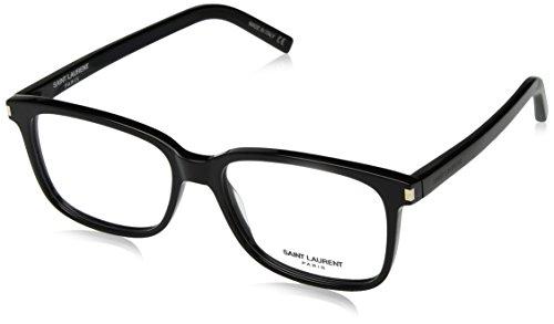 Saint Laurent Unisex-Erwachsene SL 1 008 59 Sonnenbrille, Black/Silver