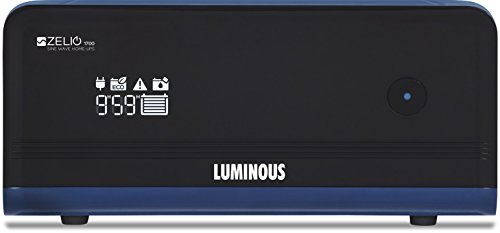 Luminous Zelio+ 1700 Sine Wave UPS ( Black )