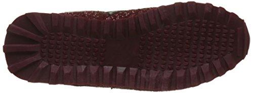 CASSIS COTE D'AZUR Damen Pitchou Flach Rot (Bordeaux)
