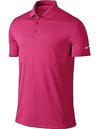Nike Golf Victory Solid Mens Polo Shirt - 12 Colours / Sml-2XL - Vivid Pink - M