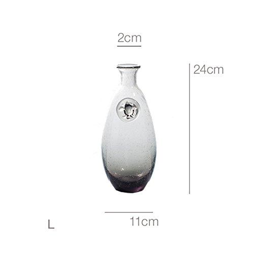 SE7VEN Frische glas vase Durchsichtige,Kreativ,Handbuch,Hydrokultur,Blumen-arrangement,Home...