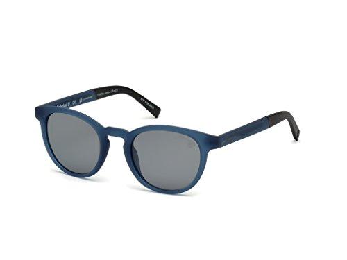 Timberland Sunglasses TB 9128 91D matte blue/smoke polarized