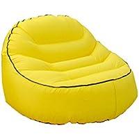 YJchairs Faules Sofa-Aufblasbarer Luft-Wasserdichter Strand-tragbarer Swimmingpool, der 200KG Trägt (Farbe : Gelb) preisvergleich bei kinderzimmerdekopreise.eu