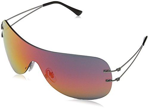 Ray-Ban Unisex Sonnenbrille RB8057, Schwarz (Negro), One Size (Herstellergröße: 34)