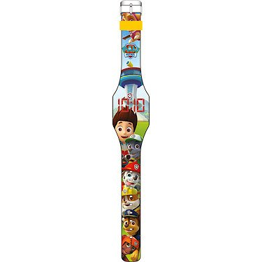 PAW PATROL- Reloj de pulsera digital LED, unica (Kids Euroswan PW16018)