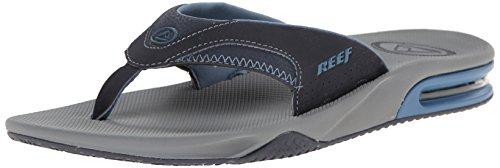Reef Fanning, Tongs hommes gris bleu