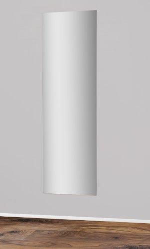 5136-2 - Spiegel 171x51cm  Rückwand buche - Kante silber