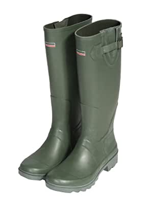 Town & Country Size 10/ EU 44 Premium Wellington Boots - Green