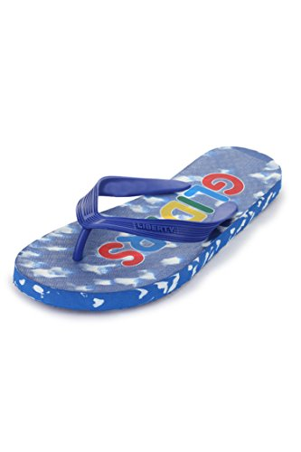 Gliders (From Liberty) Men's Martin-3 Blue Hawaii Thong Sandals - 8 UK/India (42 EU)  available at amazon for Rs.149