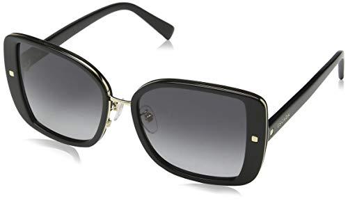 Escada Sunglasses Damen Sonnenbrille, Schwarz (Shiny Black)