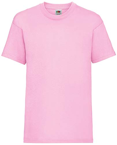 Fruite of the Loom Kinder T-Shirt, vers. Farben 92,Pink