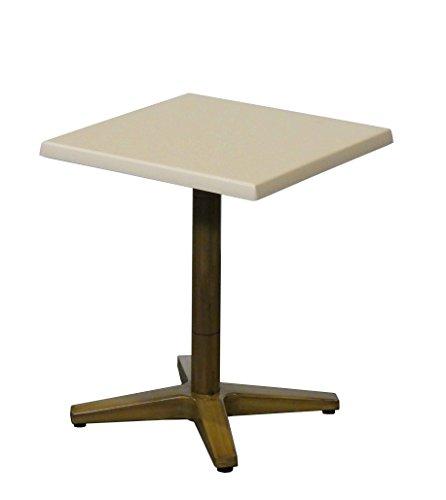 Table Guéridon de Balcon 60x60cm Seringa pour Extérieur et Intérieur