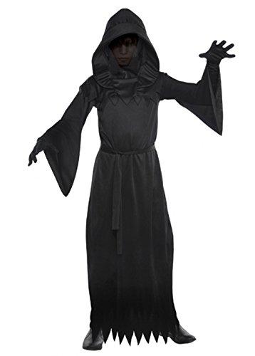 Magic Box Int. Kinder Halloween Phantom der Dunkelheit Kostüm XL (12-14 - Dunkelheit Kind Kostüm