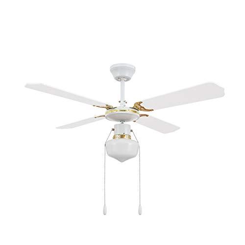 TECHBREY Ventilateur de Plafond Havoc Blanc