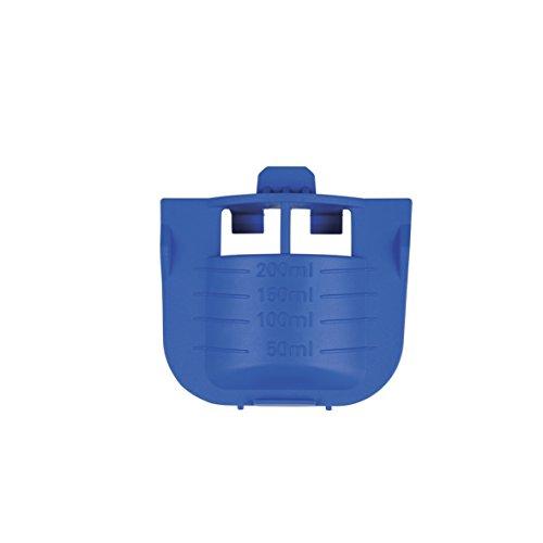 Bosch Siemens 621486 00621486 ORIGINAL Flüssigwaschmittel Einsatz Blau für Einspülschale Waschmittelkammer Waschmaschine auch Balay Neff Pitsos Profilo 10001836