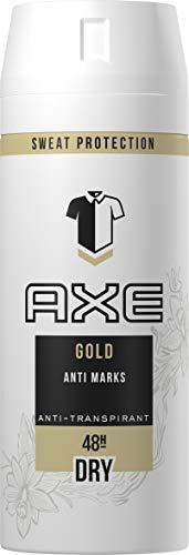 Axe Bodyspray Gold Anti-Transpirant, 150 ml, 3er Pack (3 x 150 ml) Gold-frucht
