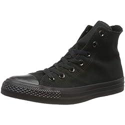 Converse C Taylor A/S - Zapatillas de Deporte Unisex Adulto, Negro (Black Monochrome), 40 EU