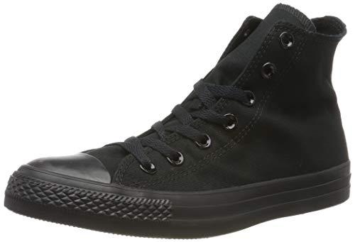 Converse C Taylor A/S Hi, Sneaker Unisex – Adulto, Nero (Black Mono), 44 EU