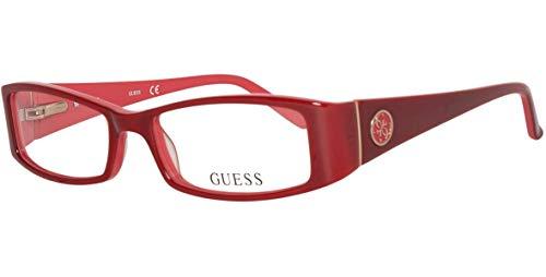 GUEX5 Damen Brillengestelle Brille GU2537 51066 Rot 51