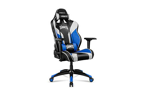 Drift Giants - DRGIANTS - Silla Gaming, Color Negro, Azul y Blanco