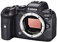 Canon EOS R6 Vollformat Systemkamera - Gehäuse (spiegellos, 20,1 MP, DIGIC X, 4K UHD, 5 Achsen Bildstabilisato