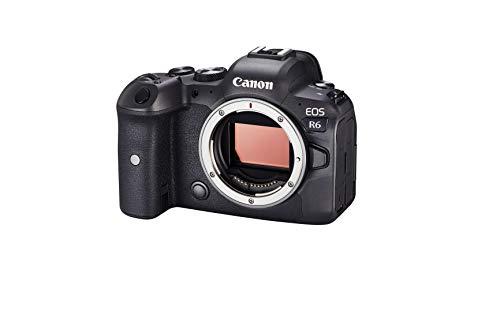 """Oferta de Canon EOS R6 - Cámara de 20 MP (Pantalla de 3"""", Disparo silencioso a 20 fps1, ISO 102.400, Dual Pixel CMOS AF II) Negro"""